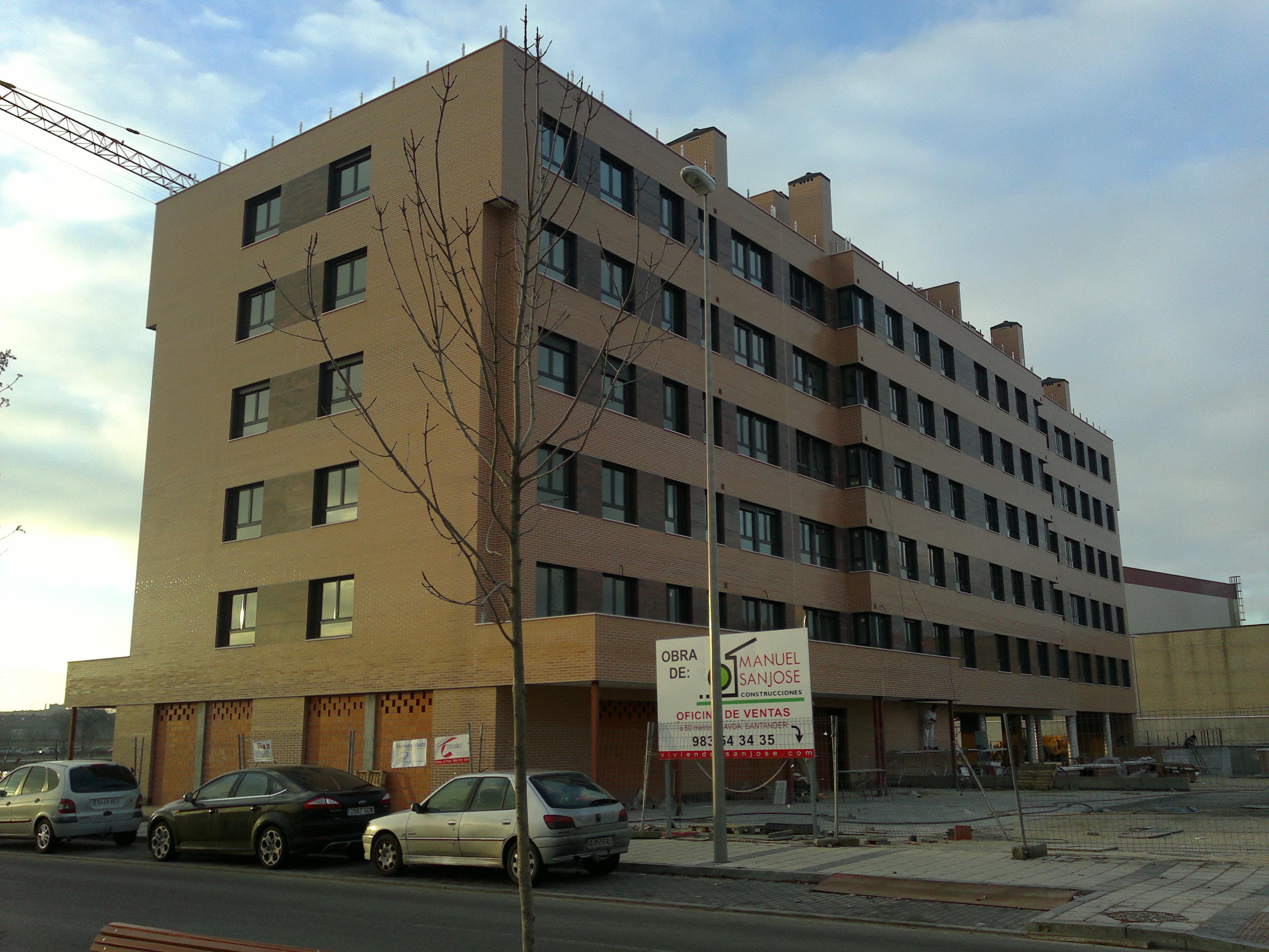 Obra en valladolid 42 viviendas en los viveros escalesa for Viveros valladolid